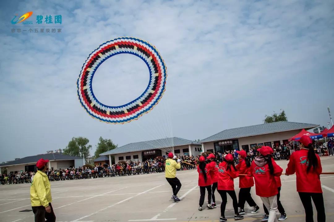 碧桂园独家冠名,2019八里河国际风筝赛暨全国风筝锦