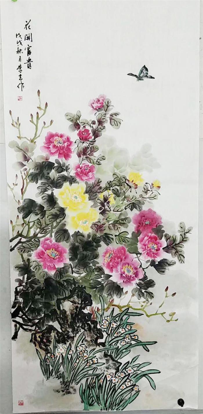 临泉书画家李青:笔锋遒劲有力 书体洒脱飘逸