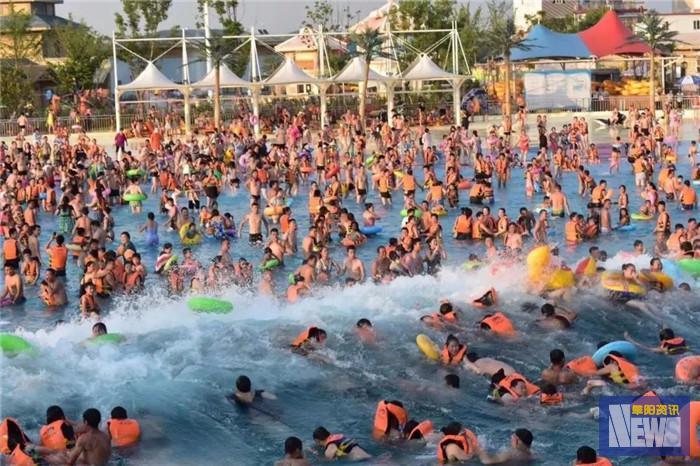 <strong>海浪+沙滩+热气球…阜阳这个70000平的度假胜地,盼了一年终于等到了!</strong>