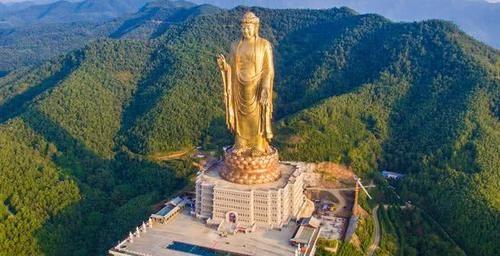中国最高佛像,耗资12亿建成,请108位高僧开光,为何现