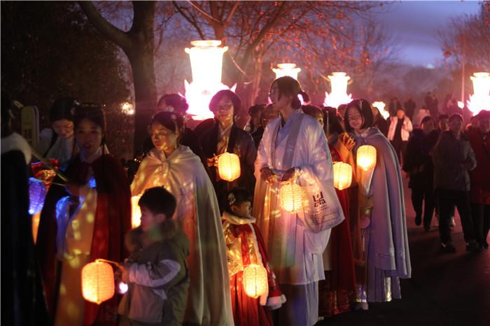 2020年阜阳生态乐园迎春灯会亮灯仪式盛大开幕